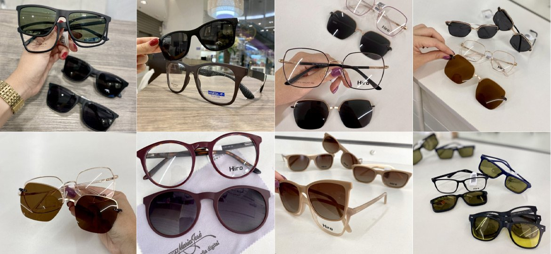 Você sabe o que são óculos clip on?
